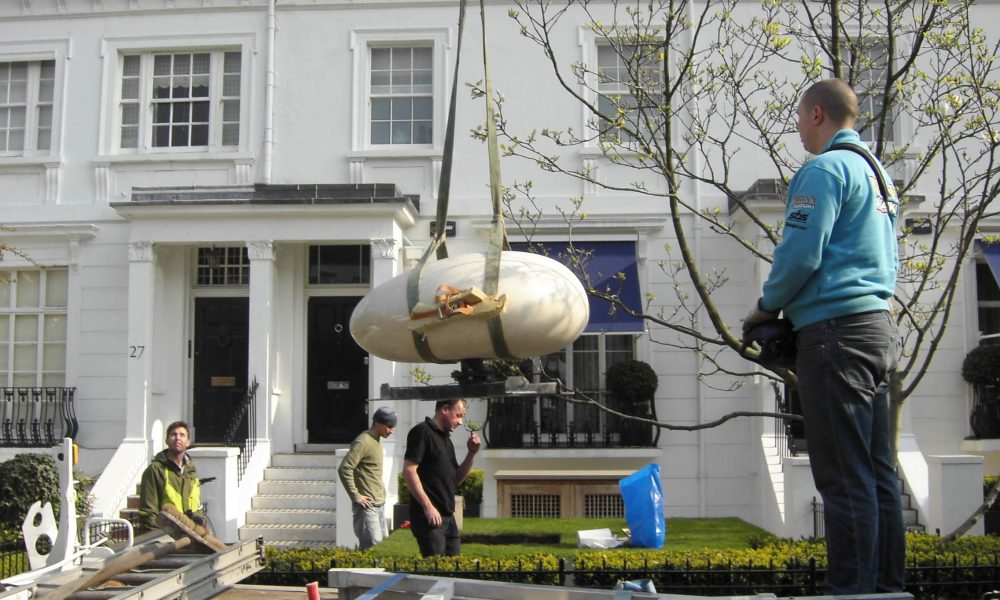 Installing Helisculpture